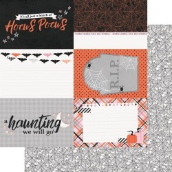 4 x 6 Elements Paper - Happy Haunting - Simple Stories