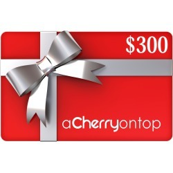 Gift Card $300 found on Bargain Bro India from A Cherry On Top Crafts for $300.00