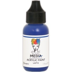Lapis - Dina Wakley Media Heavy Body Acrylic Paint 1oz