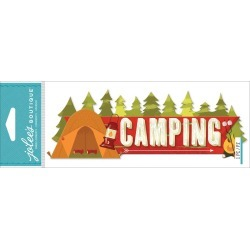 Camping Jolees Boutique Title Waves Dimensional Stickers found on Bargain Bro from A Cherry On Top Crafts for USD $3.34