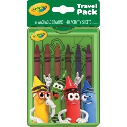 Crayola Characters Travel Pack