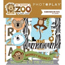 We Bought A Zoo Cardstock Die Cuts - Photoplay found on Bargain Bro India from A Cherry On Top Crafts for $3.74