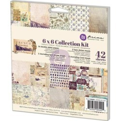 French Riviera 6 x 6 Collection Kit - Prima