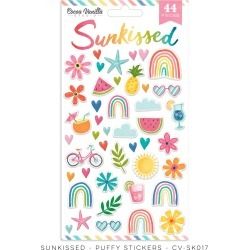 Sunkissed Puffy Stickers - Cocoa Vanilla Studio - PRE ORDER found on Bargain Bro India from A Cherry On Top Crafts for $5.49