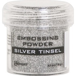 Silver Tinsel Embossing Powder found on Bargain Bro India from A Cherry On Top Crafts for $4.99