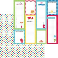Picnic Spot Paper - Bar-B-Cute - Doodlebug found on Bargain Bro India from A Cherry On Top Crafts for $0.99