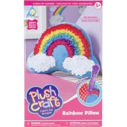 Rainbow Pillow - PlushCraft (R) Rainbow Pillow Kit