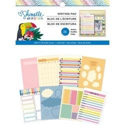 Shimelle Box Of Crayons 6 x 8 Writing Pad