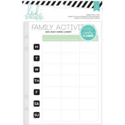 Memory Planner Binder Refill Pack - Heidi Swapp