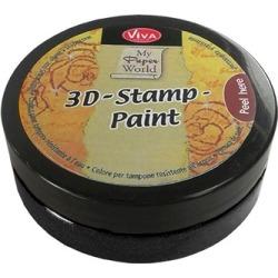 Black - 3D Stamp Paint