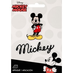 Mickey Mouse Body W/Script - Disney Mickey Mouse Iron-On Applique found on Bargain Bro India from A Cherry On Top Crafts for $4.99