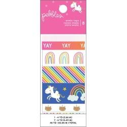 Live Life Happy Washi Tape - Pebbles found on Bargain Bro India from A Cherry On Top Crafts for $9.99