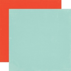Light Blue - Red Paper - Simple Life - Echo Park