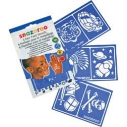 Boys' Adventure - Snazaroo Face Painting Stencils 6/Pkg found on Bargain Bro India from A Cherry On Top Crafts for $8.89
