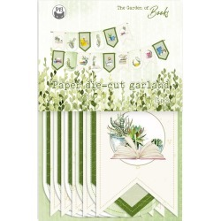 Banner Cardstock Die-Cuts - The Garden Of Books - P13 found on Bargain Bro from A Cherry On Top Crafts for USD $2.58