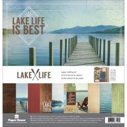 "Lake Life - Paper House Paper Crafting Kit 12""X12"""