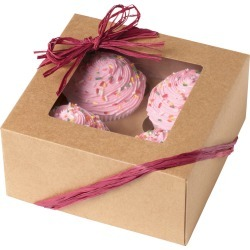 4 Cavity Kraft 3/Pkg - Cupcake Boxes found on Bargain Bro India from A Cherry On Top Crafts for $5.49