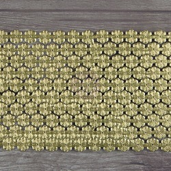 Gold Daisy Chain Large Paper Trim - Dresden - Relics & Artifacts - Prima found on Bargain Bro India from A Cherry On Top Crafts for $6.29