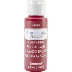 Rouge Americana Chalky Finish Paint