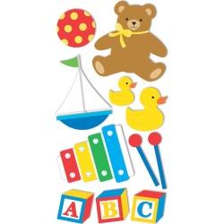 Baby Toys Stickers - Sandylion