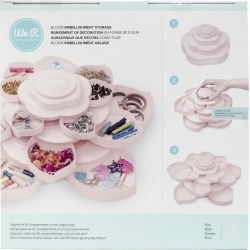 Pink - We R Bloom Embellishment Storage found on Bargain Bro from A Cherry On Top Crafts for USD $18.99
