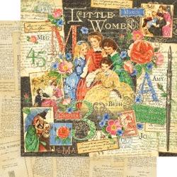 Little Women Paper - Graphic 45