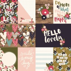 Journaling Paper - Hello Lovely - Simple Stories