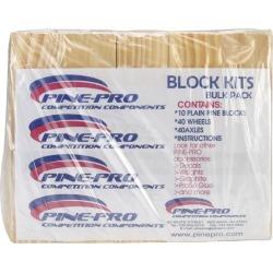 Block - Pine Car Derby Kits Bulk Pack