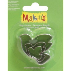 Dove - Makin's Clay Cutters 3/Pkg found on Bargain Bro India from A Cherry On Top Crafts for $3.99