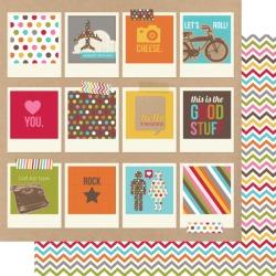 Snap Polaroids Paper - Simple Stories