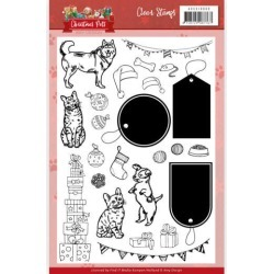 Christmas Pets Clear Stamps - Find It Trading found on Bargain Bro India from A Cherry On Top Crafts for $9.99
