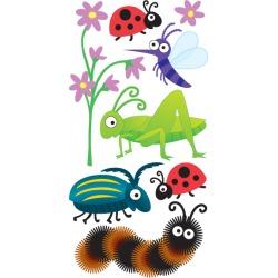 Bugs Lg 3D Stickers - Sandylion