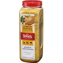 Tone's Lemon Pepper Seasoning (28 oz.) found on Bargain Bro India from Sam's Club for $8.28