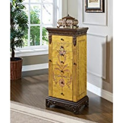 Antique Parchment Hand Painted Jewelry Armoire found on Bargain Bro Philippines from Sam's Club for $249.87