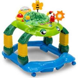 Delta Children Lil' Play Station 4-in-1 Activity Walker, Mason the Turtle