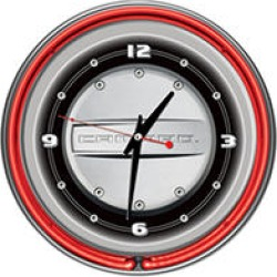 Camaro 14 Inch Neon Clock found on GamingScroll.com from Sam's Club for $59.88