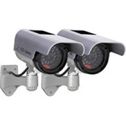 Solar Decoy Camera Twin Pack found on Bargain Bro India from Sam's Club for $34.94