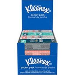 Kleenex Facial Tissues, On-The-Go Pack (10 tissues per pk, 16 pk.)