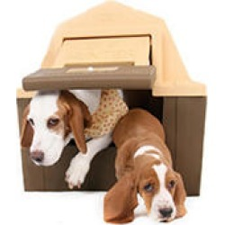 DP Hunter - Insulated Dog House - With Floor Heater for the Winter & Solar Fan for the Summer found on Bargain Bro India from Sam's Club for $214.98