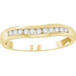 .20 ct. t.w. Diamond Enhancer Band in Yellow Gold 6.5