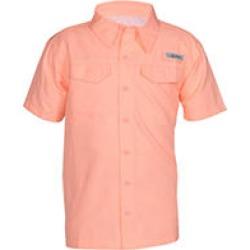 Habit® Youth River Shirt - Peach, Large
