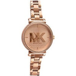 Michael Kors Sofie Quartz Crystal Rose Gold Dial Ladies Watch found on MODAPINS from Sam's Club for USD $149.00