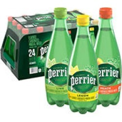 Perrier Sparkling Natural Mineral Water Variety Pack (16.9 fl. oz, 24 pk.) found on Bargain Bro India from Sam's Club for $17.98