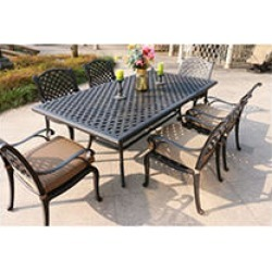 7-Piece Aluminum Dining Set