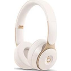 Beats Solo Pro Wireless Noise Cancelling On-Ear Headphones (Ivory)