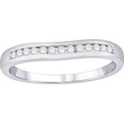 0.15 ct. t.w. Diamond Enhancer Ring in 14k White Gold (H-I, I1) - size 9 found on Bargain Bro Philippines from Sam's Club for $269.00
