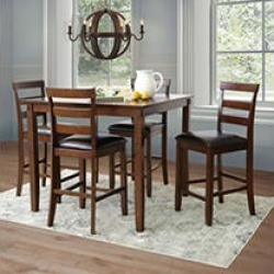 Sycamore 5 Piece Counter Height Dining Set found on Bargain Bro from Sam's Club for USD $455.98