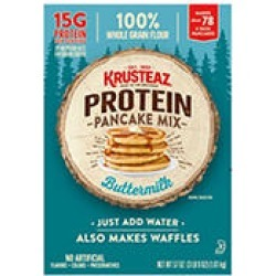 Krusteaz Buttermilk Protein Pancake Mix (57 oz.) found on Bargain Bro India from Sam's Club for $7.98