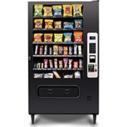 Selectivend WS5000 40 Selection Snack Machine with Card Reader