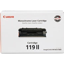 Canon 119 Toner Cartridge, Black, Select Type found on Bargain Bro Philippines from Sam's Club for $178.98